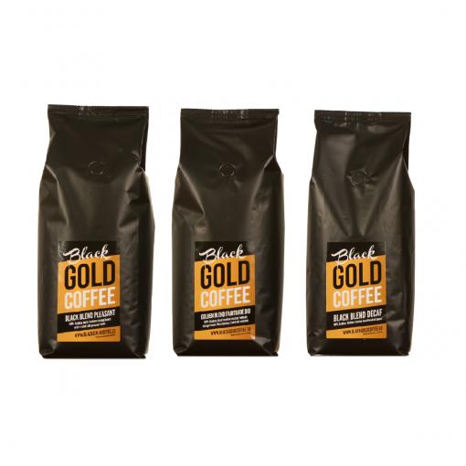 Black Gold Coffee Black & Gold Mixed Blend 3x