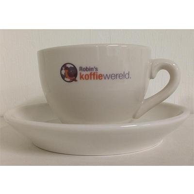 Koffiewereldcappuccinokopenschotel