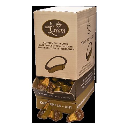 Melkcups doos 200 stuks koffiewereld