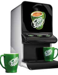 Mini Cup a soup machine schuin