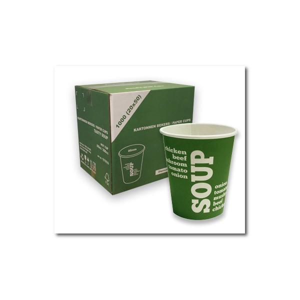 Beste Soepbekers 1000 stuks geschikt voor onder andere Cup-a-Soup IN-22