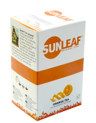 Sunleaf Sinaasappel thee 80 stuks Koffiewereld